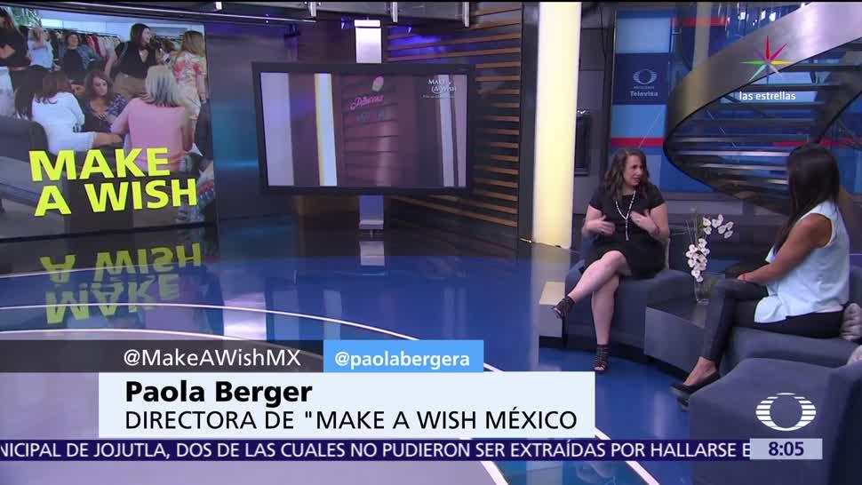 Al Aire, Paola Berger, Make a Wish, cumplir deseos