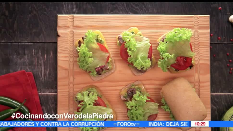chef, Verónica de la Piedra, pepitos con guacamole, guacamole