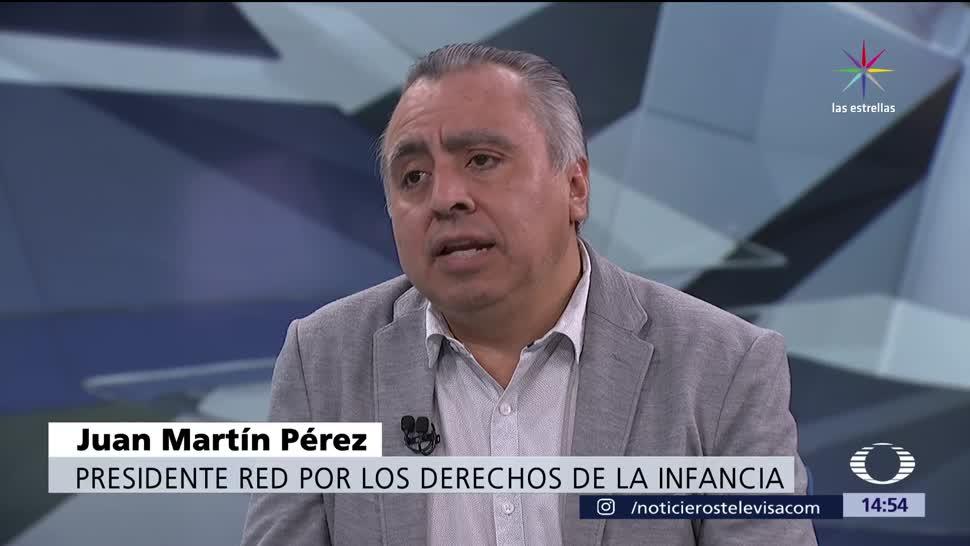 Red por los Derechos de la Infancia, Juan Martín Pérez, narcoexplotación, delincuencia organizada