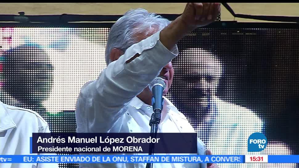 Movimiento de Regeneración Nacional (MORENA), andrés manuel lópez obrador AMLO, Nuevo Aeropuerto de la Ciudad de México