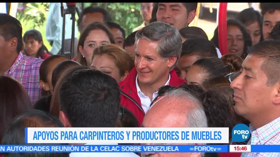 alfredo del mazo maza, Partido Revolucionario Institucional (PRI), productores de muebles, Estado de México