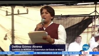 Delfina Gómez, Movimiento de Regeneración Nacional (MORENA), Estado de México, acabará con los aviadores