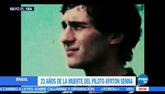 Noticias, Televisa News, Efemeride, En Una Hora, Muerte, Ayrton Senna