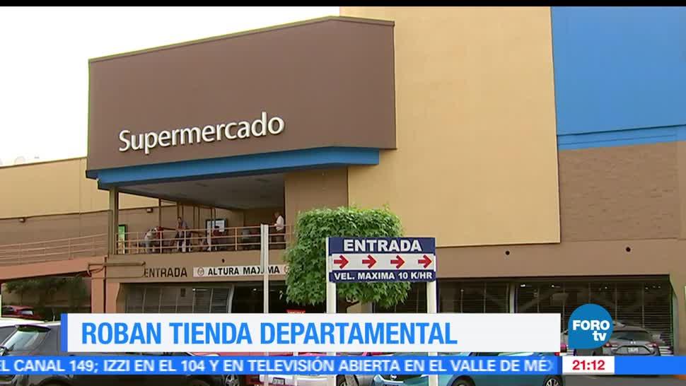 Noticias, Televisa News, Comando armado, asalto, autoservicio, Tlalpan