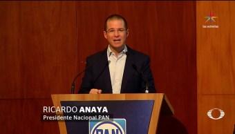 noticias, televisa news, PAN, limar asperezas, Consejo Nacional del PAN, Ricardo Anaya