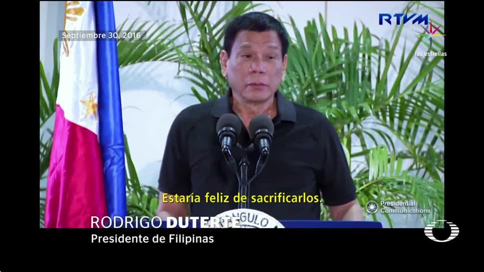 noticias, televisa news, Rodrigo Duterte, presidente, Donald Trump, filipino