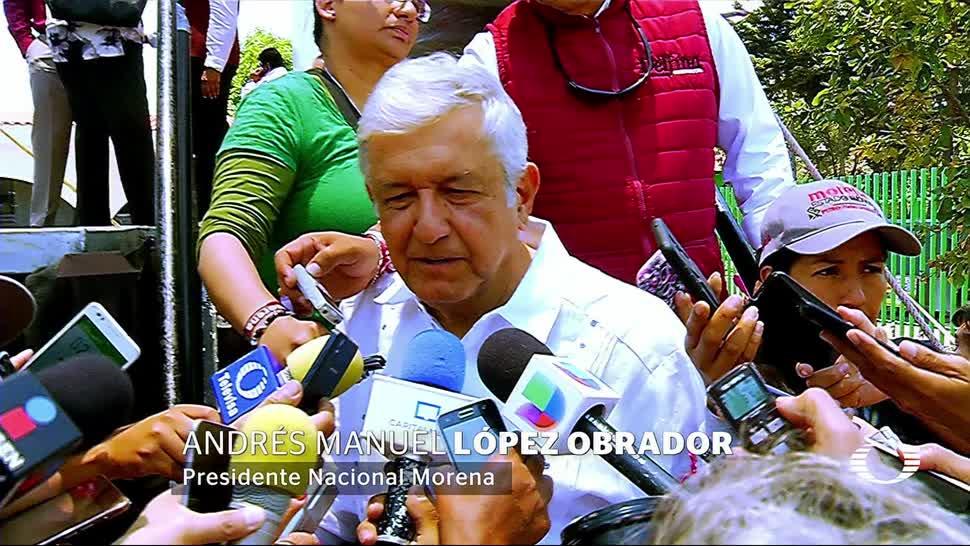 Amenazan a AMLO, Felipe Calderon, solidariza, amlo