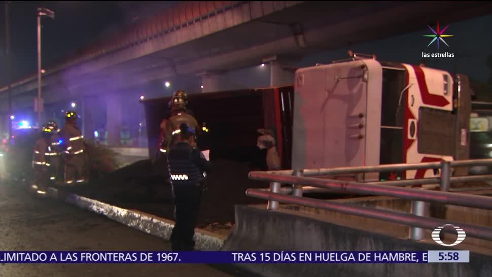 Ciudad de México, Camión de carga, Metro Oceanía, lesionados,