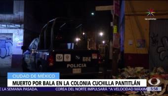 hombre muere, disparos, arma de fuego, Ciudad de México, Oriente