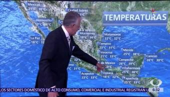 sistema de alta presión, caluroso, México, Despierta con Tiempo