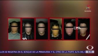 peatones, CDMX, banda de ladrones, colombianos