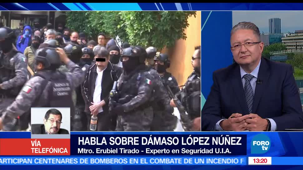 maestro Erubiel Tirado, Programa, Seguridad Nacional, Universidad Iberoamericana,