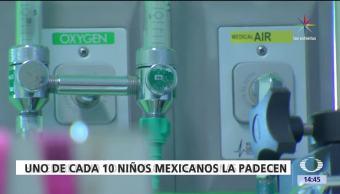 asma, Día mundial, México, padecen