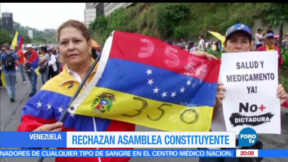 noticias, televisa news, Venezuela, convocatoria, presidente Maduro, asamblea constituyente