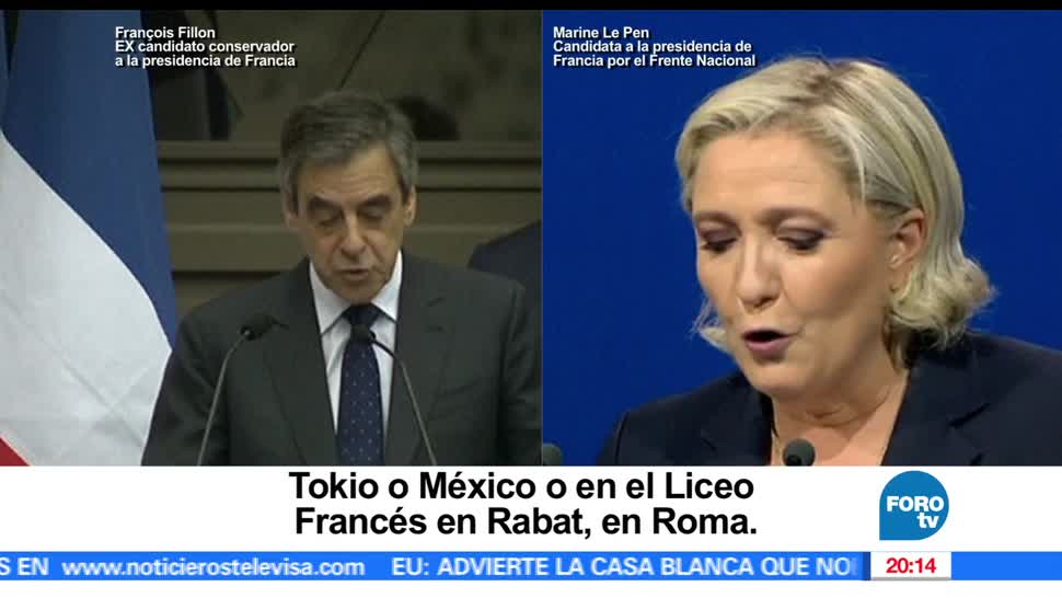 noticias, televisa news, Acusan, Marine Le Pen, plagio de discurso, francia