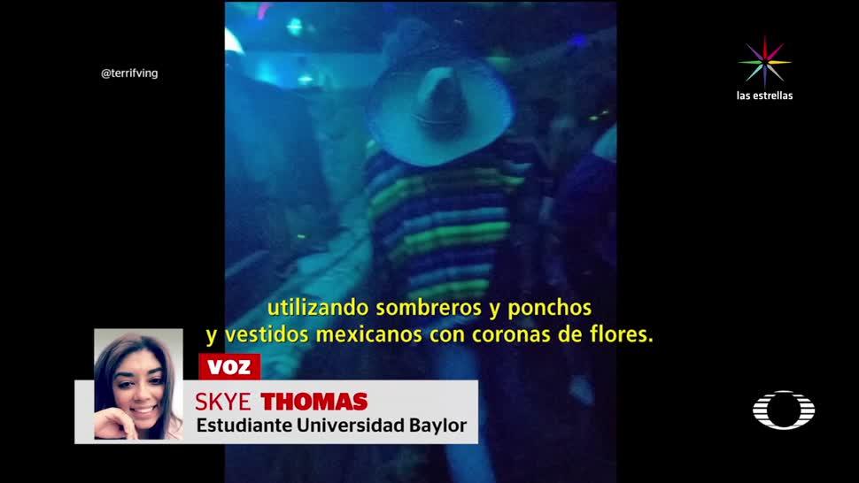 noticias, forotv, Universidad de Texas, fiesta, antimexicanos, Texas