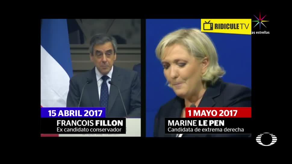noticias, televisa news, Candidata presidencial, Francia, copia discurso, Marine Le Pen