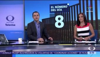 El número del día, Peritaje, Estados Unidos, territorio a México
