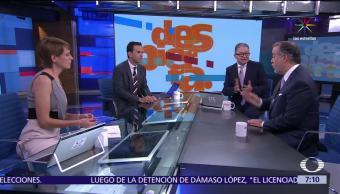 Captura de Damaso Lopez, Damaso Lopez El Licenciado, Raul Cervantes, Despierta con loret