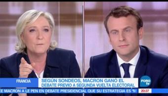 noticias, forotv, Debate, Emmanuel Macron, Marine Le Pen, Francia