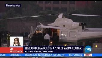 noticias, hora 21, Trasladan, Damaso Lopez, penal, Ciudad Juarez