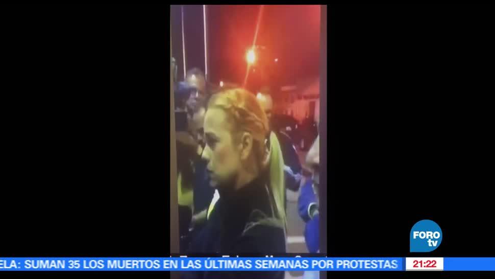 noticias, hora 21, Lilian Tintori, informes de salud, Leopoldo Lopez, venezuela