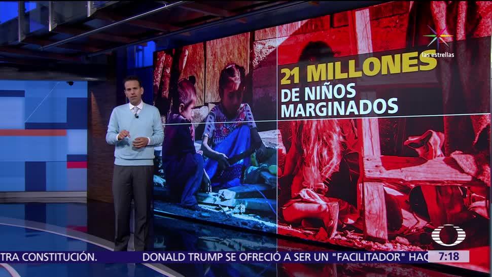niños en México, desnutrición crónica, Niños en pobreza, salud