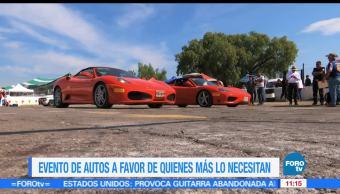 Eduardo Saint Martin, reportaje, evento automovilístico, fondos