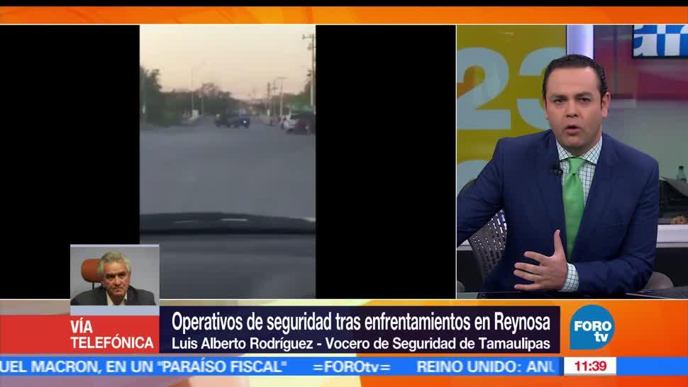 Luis Alberto Rodríguez, Seguridad, Tamaulipas, inseguridad,