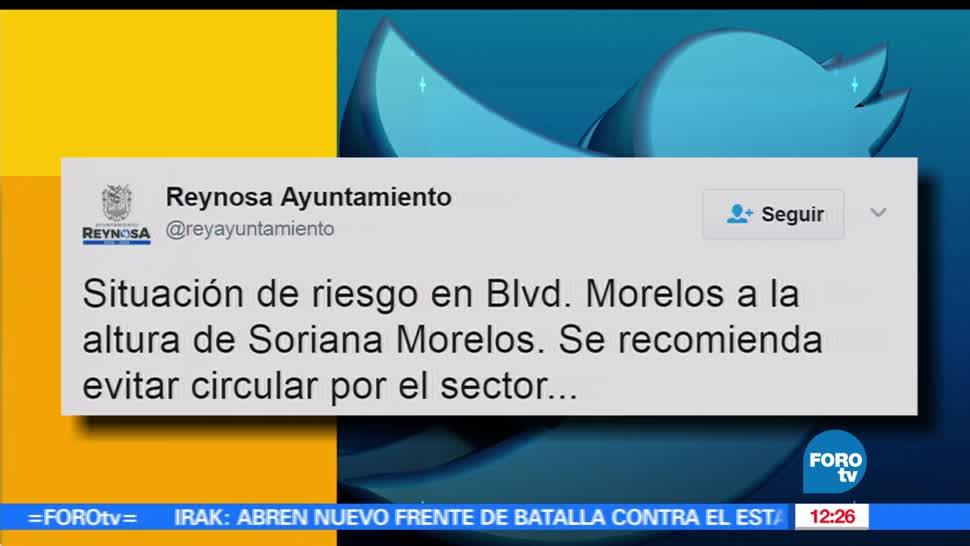 Ayuntamiento, Reynosa, redes sociales, situación de riesgo