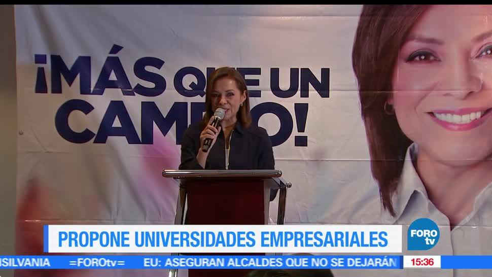 noticias, forotv, Vazquez Mota, propone, Universidades, empresariales