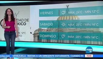 noticias, forotv, El Clima, Claudia Torres, clima, ambiente caluroso