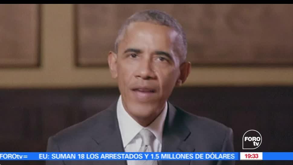Barack Obama, Video de apoyo, Candidato, Elecciones en Francia, Macron