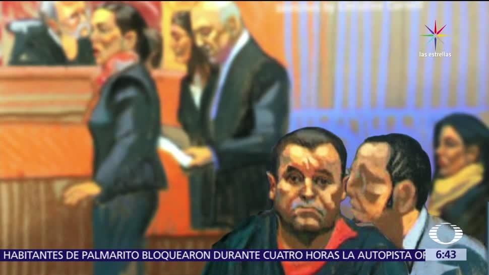El Chapo, Juez de EU, comunicarse con su esposa, cartas