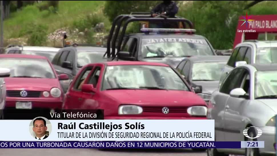 Inseguridad, autopista México-Puebla, fuera de control, Raúl Castillejos