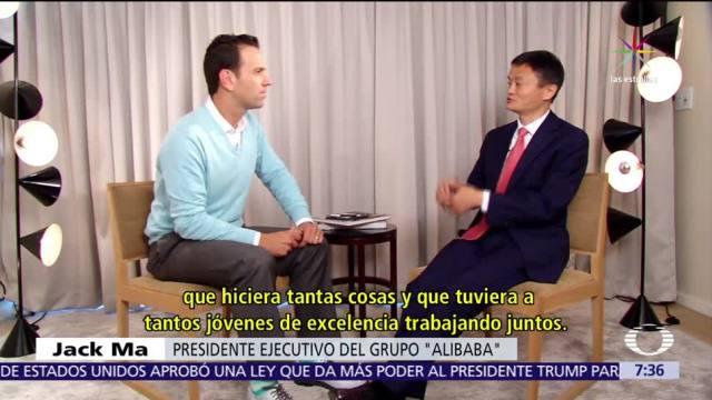 Jack Ma, fundador de Alibaba, gigante chino, internet Alibaba