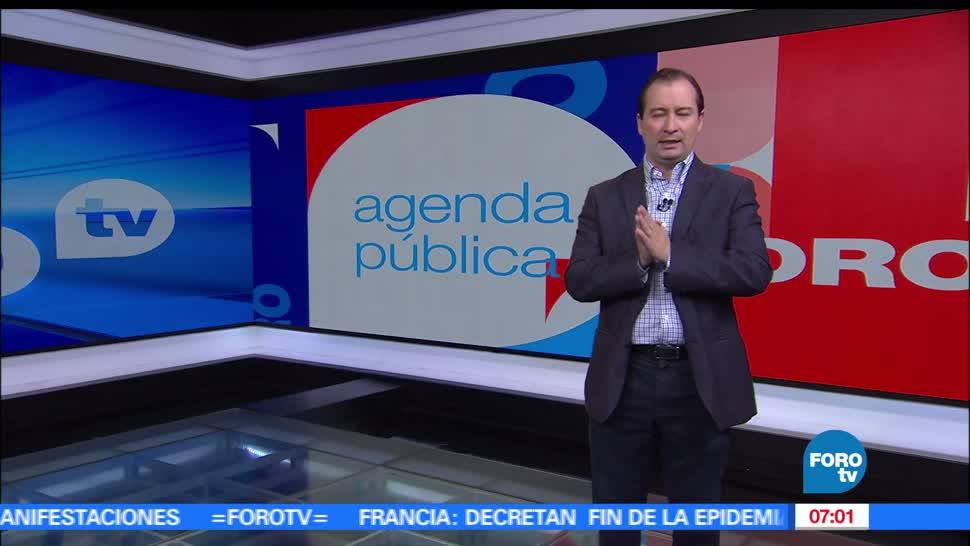Agenda Pública, Mario Campos, Noticias, FOROtv