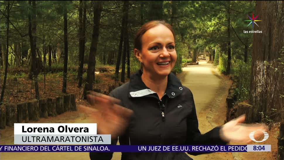 Lorena Olvera, ultramaratonista, mexicana, récord mundial