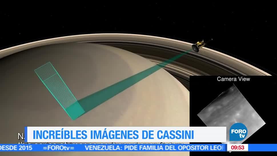 NASA, Good News en Express, Increíbles imágenes, Cassini
