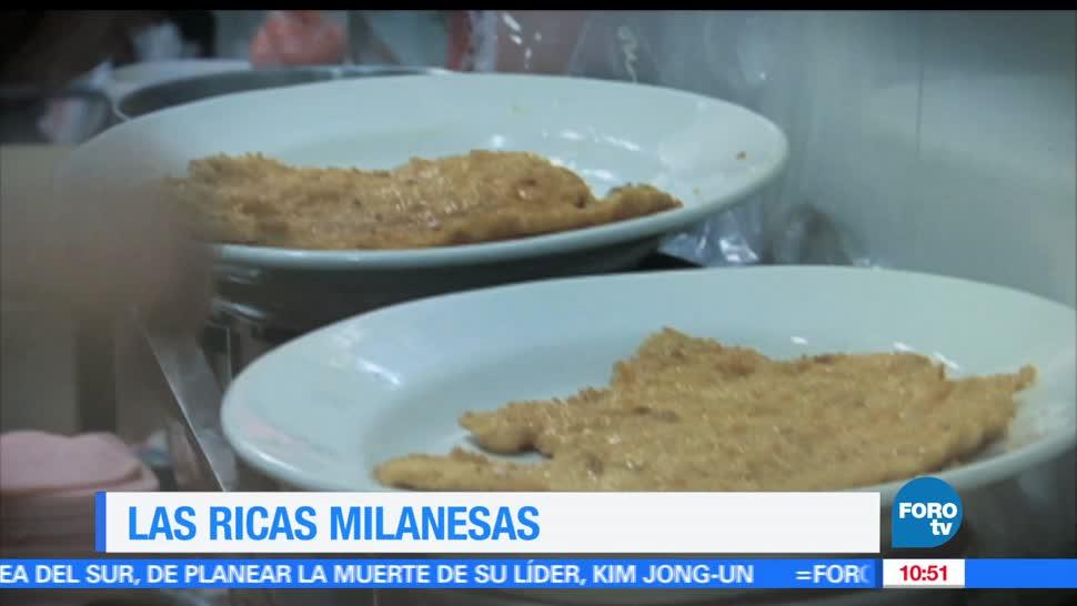 viernes culinario, Las ricas milanesas, Enrique Muñoz, Ciudad de México