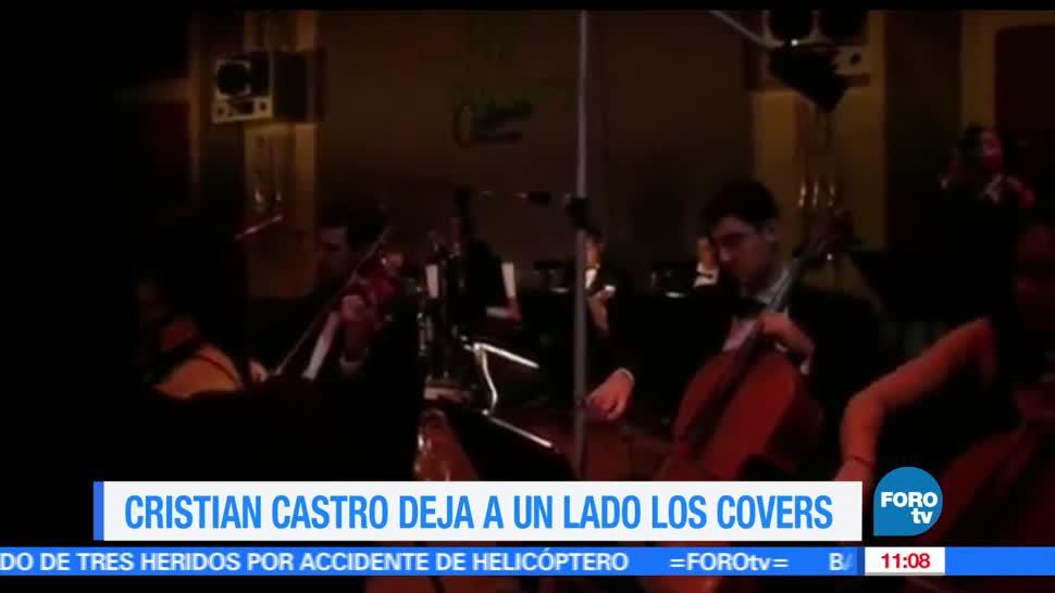 cantante, Cristian Castro, lado los covers, LoEspectaculardeME