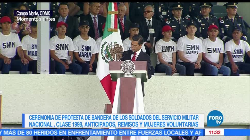 Enrique Peña Nieto EPN, muerte de soldados, enfrentamiento, huachicoleros