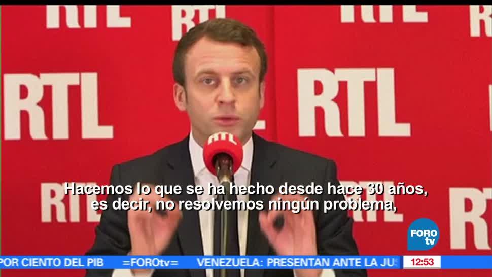Macron, ganó debate, presidencia de Francia, sondeo