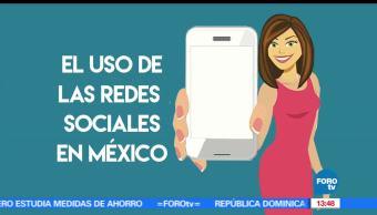 redes sociales, México, comunicarnos, WhatsApp y Facebook