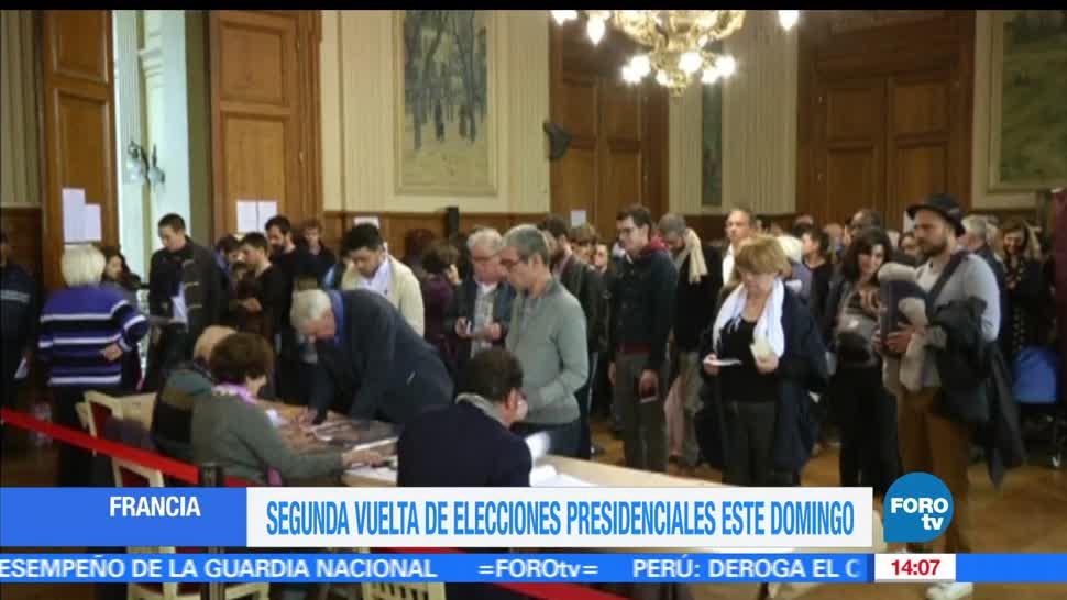 Emmanuel, Macron, Favorito, Elecciones presidenciales, Francia, Segunda vuelta