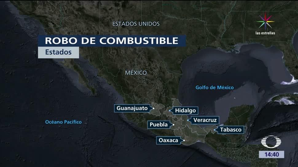 robo de combustible, afecta, Puebla, ductos de Pemex, Huachicoleros, Combustibles