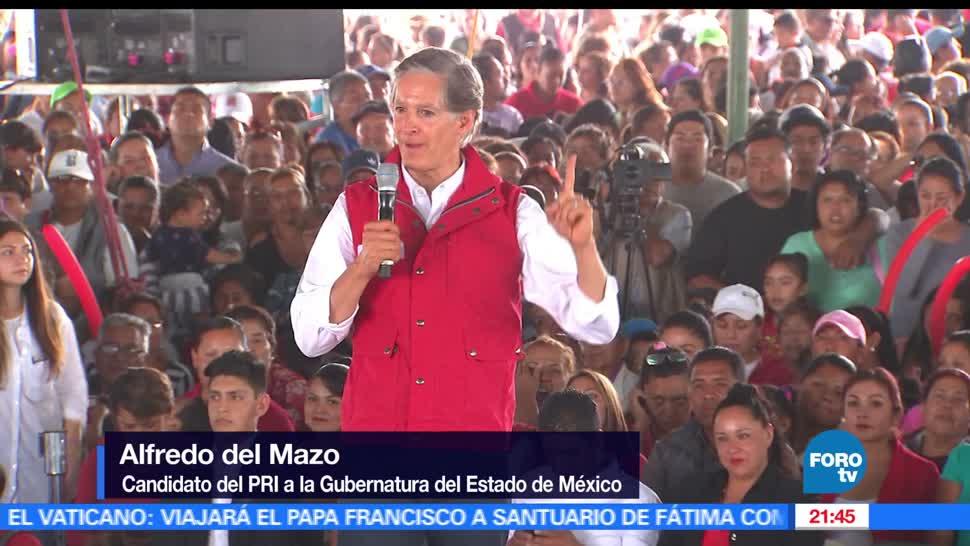 noticias, forotv, Alfredo del Mazo, Coacalco, Tecamac, Ecatepec