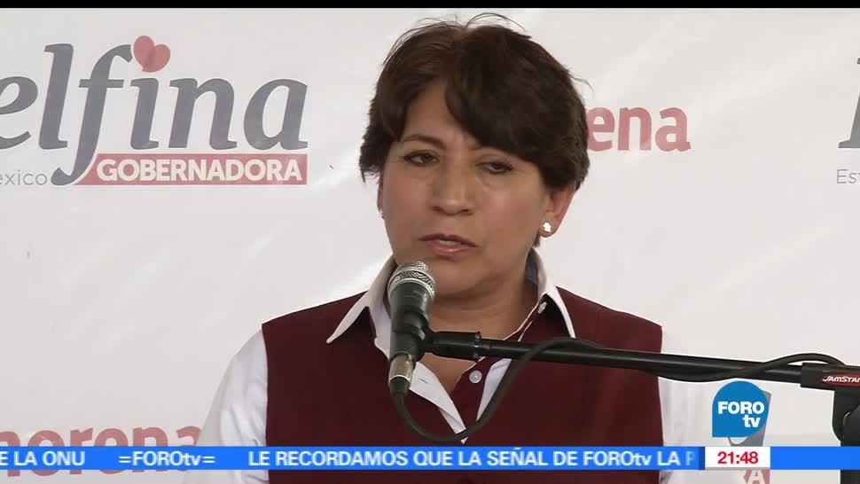 noticias, foroTV, Delfina Gamez, Tultitlan, morena, elecciones del estado de mexico