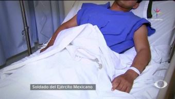 noticias, Televisa news, Soldado, narra, ataque de huachicoleros, Puebla