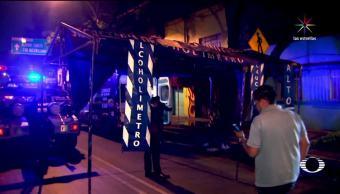 Noticias, Televisa News, Conductor, alcoholimetro, arrolla a policias, ebrio